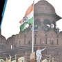 PM Modi at Red Fort on 72 Independence Day, unfurls national flag