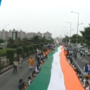 Independence Day: Surat unfurls 1100 meter long tricolour