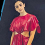 Alia Bhatt slays the runway in this striking red dress
