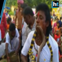 People pierce bodies, play with snakes, for unique festival in Ranchi