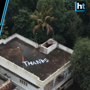 Indian Navy greeted with 'thanks' note on Kochi roof