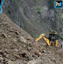Watch: Landslide causes Pathankot-Dalhousie highway to shut