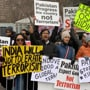 Indian-Americans protest outside UN headquarters against Pulwama terror attack