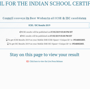 Steps to check ICSE10th result 2019 through SMS, website