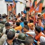 Violence continues in Bengal as police and BJP workers clash over funeral