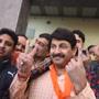 'Sixth sense tells me BJP will form govt in Delhi', says Manoj Tiwari