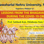 After Ramayana, JNU to conduct webinar on ' Lessons from Bhagavad Gita during Covid-19 crisis'