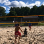 Doggo plays volleyball with humans on beach, 'amazing player' say netizens