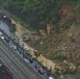 Heavy overnight rain in Mumbai causes landslide on WesternExpress Highway