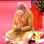 In pics: Clad in golden dhoti-kurta, PM performs Ram temple bhoomi pujan