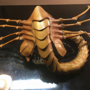 Artist creates a facehugger mask out of leather to prevent Covid-19