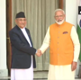 Nepalese PM KP Sharma Oli calls Narendra Modi to greet him on I-day