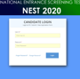 NEST Admit Card 2020 released at nextexam.in, exam on September 29