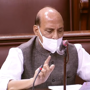 'Determined to protect India's border': Rajnath on LAC standoff in RS
