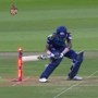 Hardik suffers bizarre hit wicket dismissal, trolled on social media- WATCH