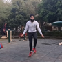 Indian man creates record for most skips on roller skates in 30 seconds. Watch