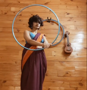Viral hula hoop dancer: Wanted to show, saree doesn't limit your moves