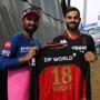 RCB vs RR:  Rahul Tewatia gets autographed jersey from Virat Kohli