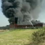 Massive fire breaks out at chemical factory Meerut's Kharbanda