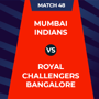IPL 2020 - RCB Vs MI, 1st innings: Live Updates: Score after 5 overs