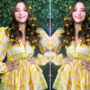 Tamannaah Bhatia looks radiant post Covid recovery in yellow  dress