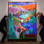 Hockney masterpiece goes on view ahead of auction