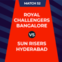 IPL 2020 - RCB Vs SRH, 2nd innings: Live Updates: Score after 5 overs