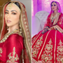 Sana Khan shares unseen images of stunning 'Walima look'. See pics