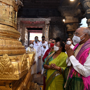 President Kovind worships at Tirupati Balaji temple