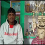 Odisha artist creates Lord Jagannath's idol with 3,635 matchsticks