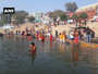 Devotees take holy dip on 'Kartik Purnima' in Prayagraj, Varanasi