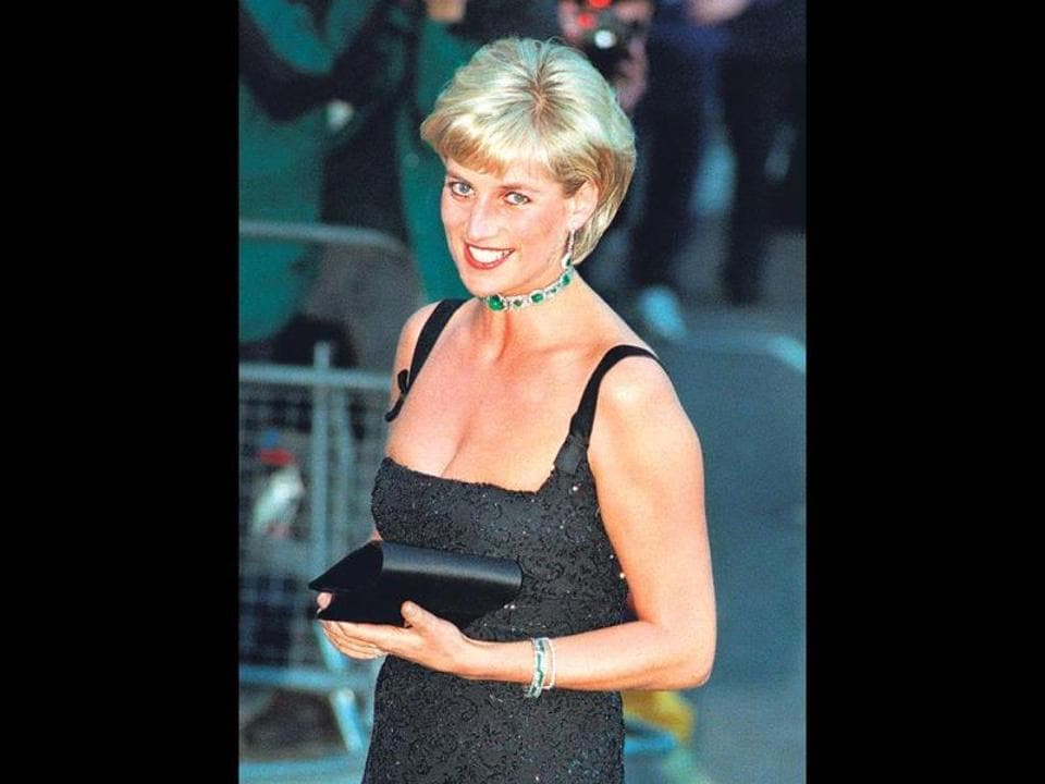Princess Diana was noted for her style, charisma and high-profile charity work and beauty.
