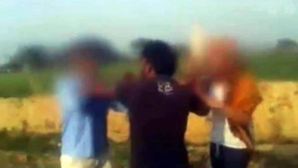 A vegetable seller in Osmanabad district of Maharashtra was assaulted, allegedly for ridiculing the 'achche din' slogan of Prime Minister Narendra Modi.