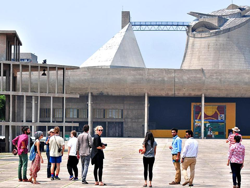 Links to other important websites of planning and architecture of Chandigarh such as Capitol Complex, Le Corbusier Foundation, UNESCO World Heritage etc are also available on the website.
