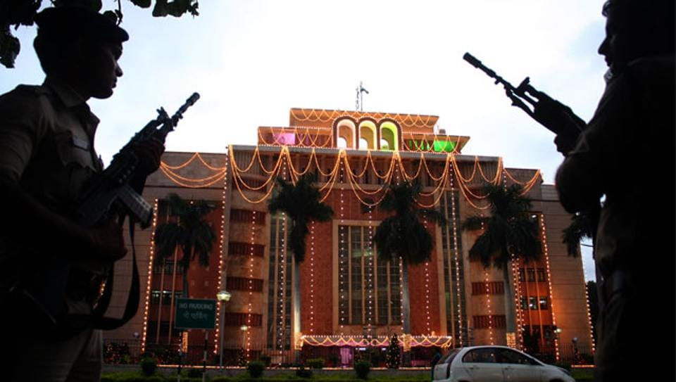 Vallabh Bhavan at state capital of Bhopal