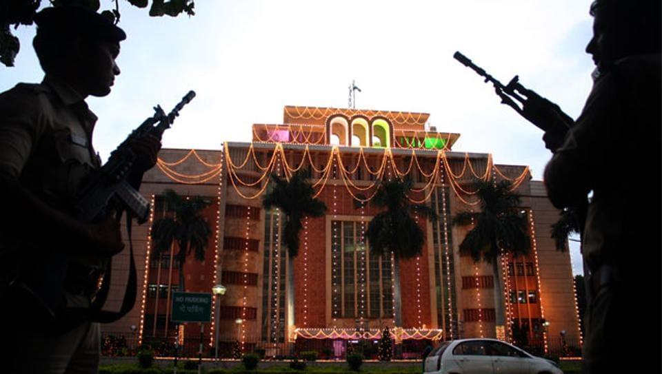 State secretariat building at Bhopal. (HT photo)