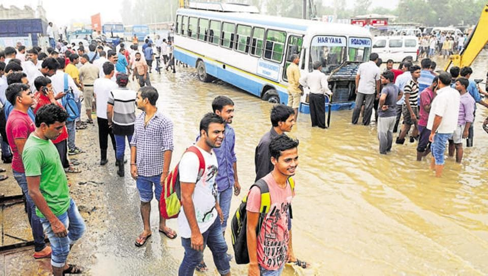 The Gurgaon administration has promised to take measures to ensure no repeat of last year's waterlogging.