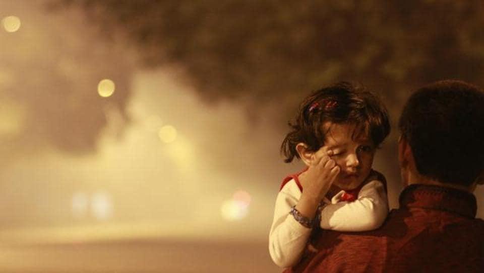 Pollution,Delhi smog,PM 2.5