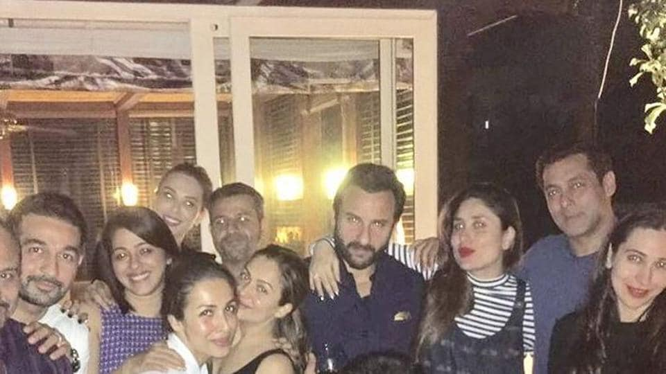 Kareena, Karisma and gang parties with Salman Khan and Iulia Vanture in attendance.