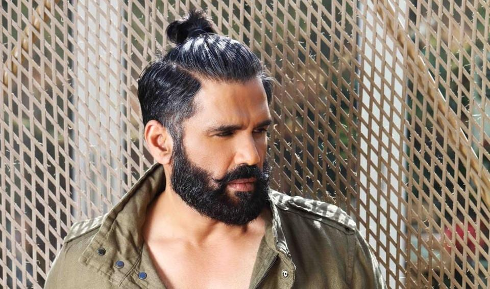 Actor Suniel Shetty is ecstatic that son Ahan is making his Bollywood debut.
