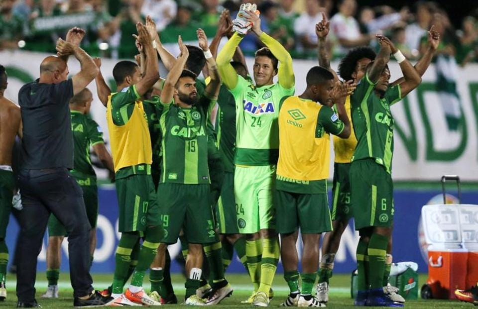 Chapecoense made it to the Copa Sudamericana finals last week — the equivalent of the UEFA Europa League tournament.