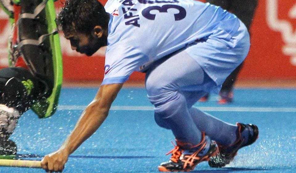 Young striker Affan Yousuf gave India the lead against the Australian hockey team in the first half (19th minute) with two field goals in quick succession.