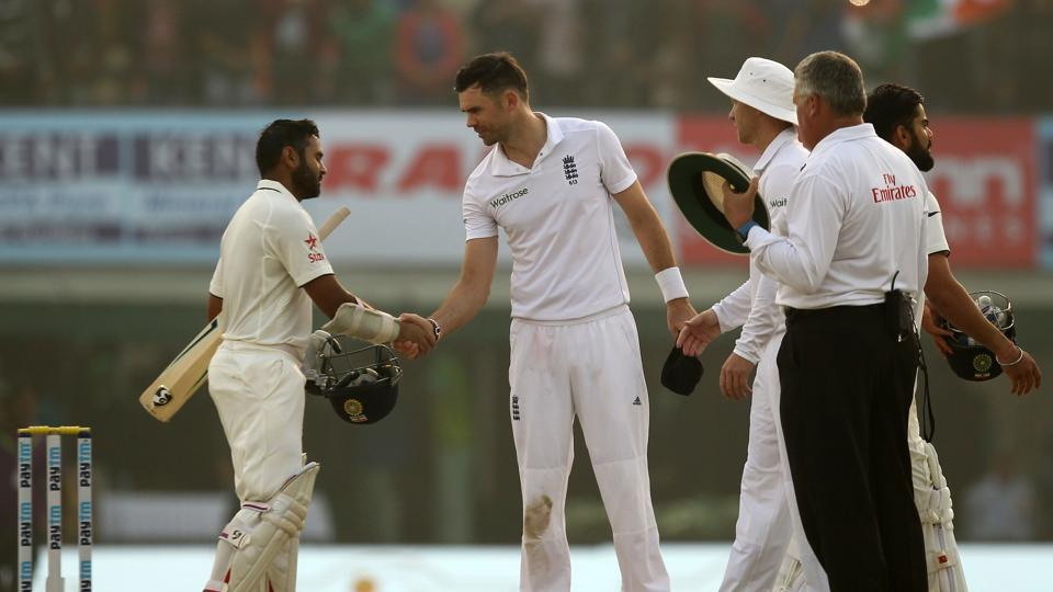 India put in a magnificent performance as they thrashed England by eight wickets in the Mohali Test to take an unassailable 2-0 lead in the series. (BCCI)