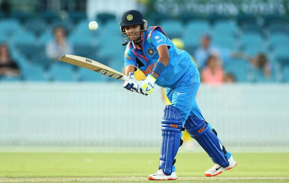India women's national team captain Harmanpreet Kaur put on a strong all-round display with two wickets and an unbeaten 26.