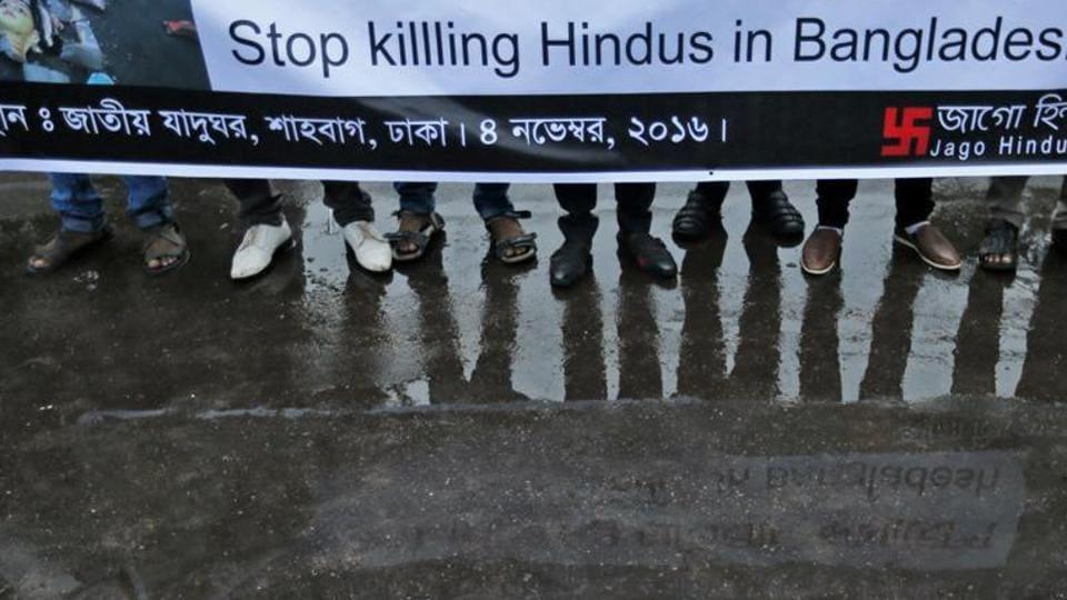 Bangladesh temple attacks