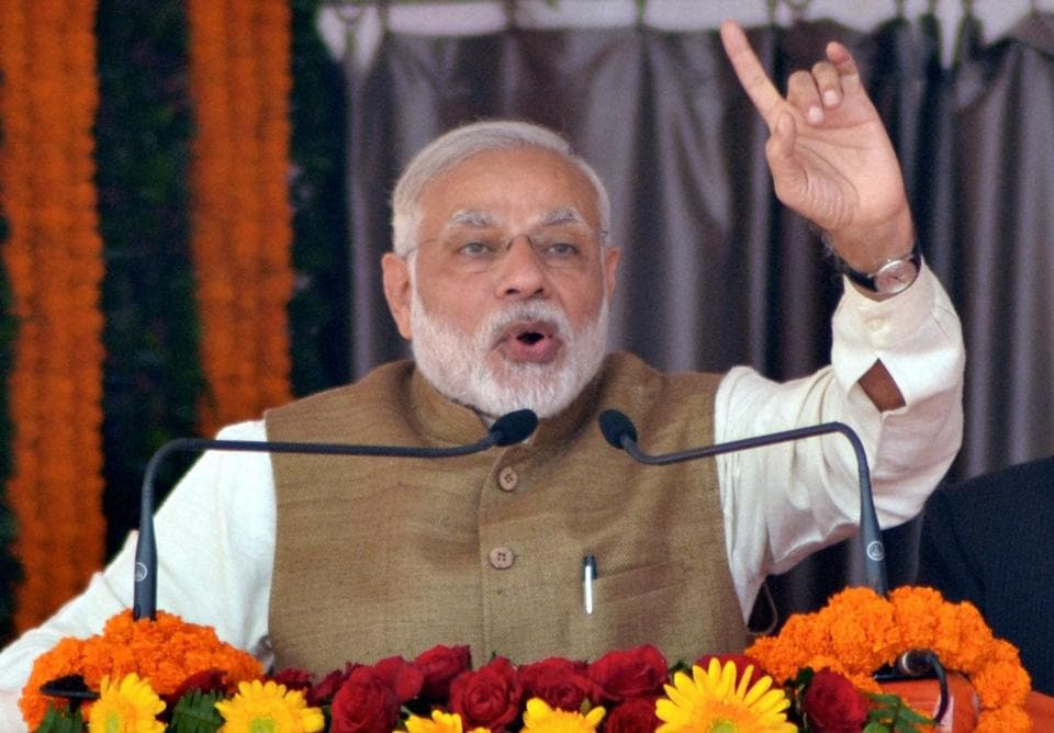 Prime Minister Narendra Modi has asked the BJP MPs and MLAs to submit htheir bank statements with details of transactions between November 8 and December 31 to party president Amit Shah
