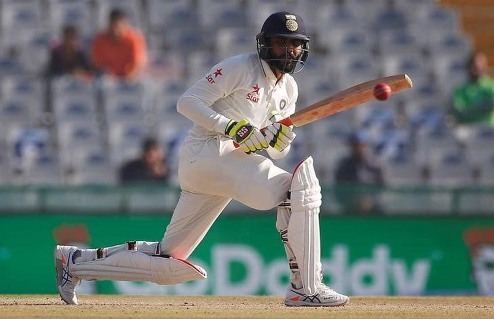 Cricket - India v England -England attacked with a heavily-packed off-side field and he was largely content to nudge the ball around until he got into the 70s when he suddenly went on the attack. (Reuters)
