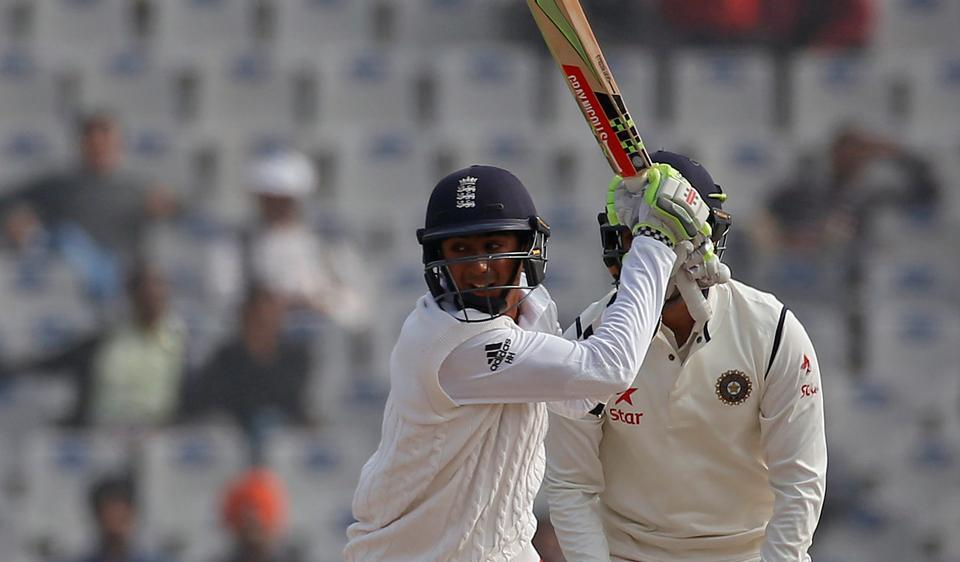 Haseeb Hameed, who was injured, decided to bat in the second innings. He scored an unbeaten 59 off 156 balls coming in at No 8.