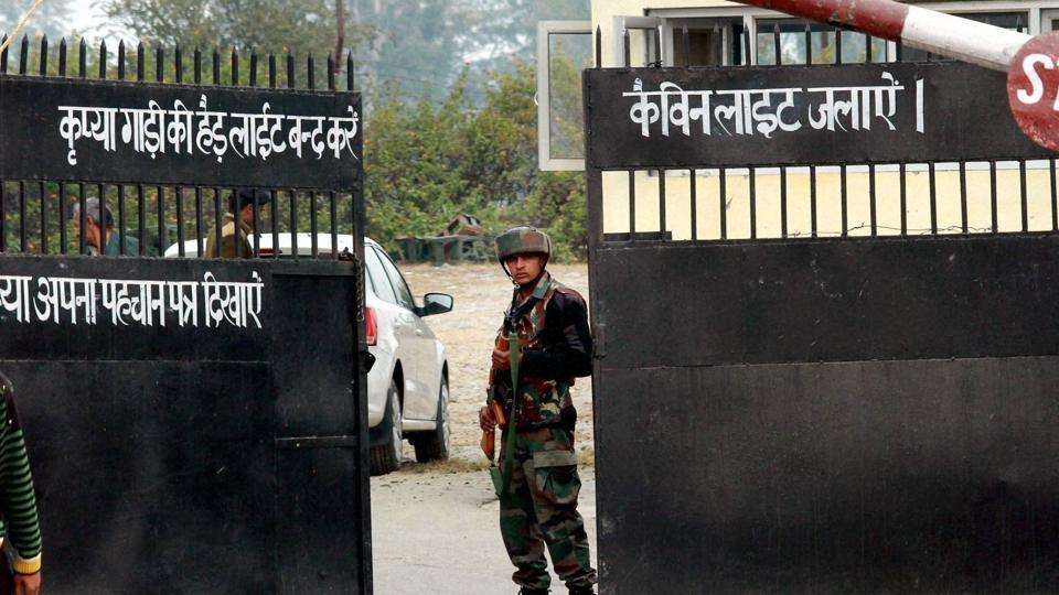 Nagrota army camp attack,Militant attack on army camp in J-K,Gunfight