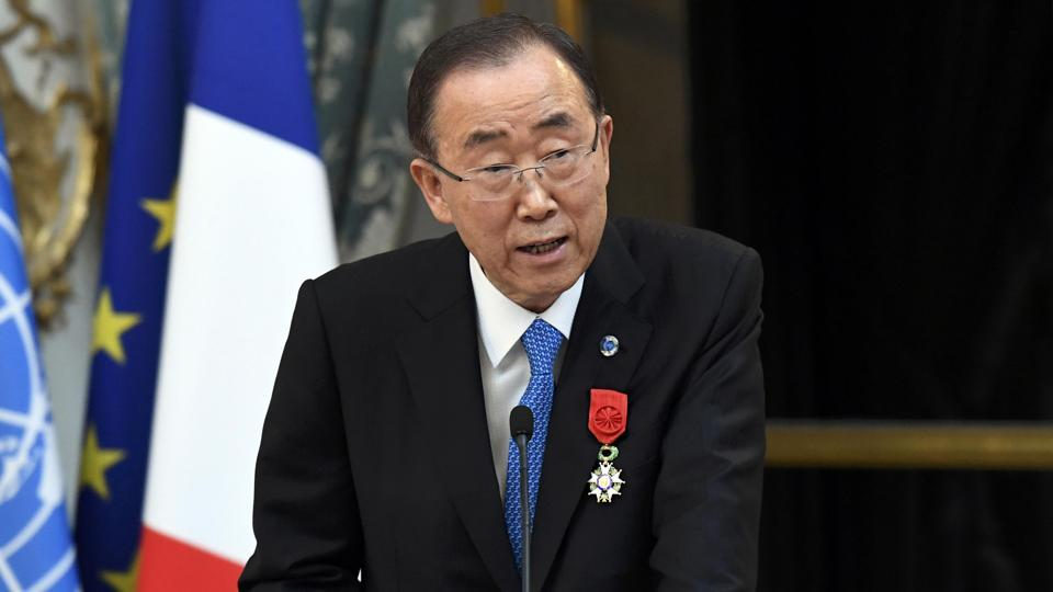 UN secretary general Ban Ki-moon is said to be greatly concerned by the growing tensions between India and Pakistan along the Line of Control.